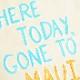 ≪zhuu.≫ ズー<br>メッセージ ハンドペイント コットン トート バッグ グラフィック 帆布 キャンバス MAUI TOTE (Natural)
